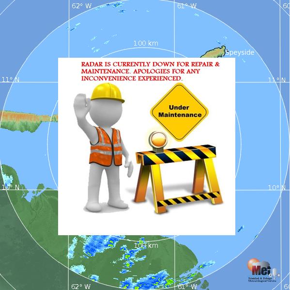 Radar de trinidad y Tobago